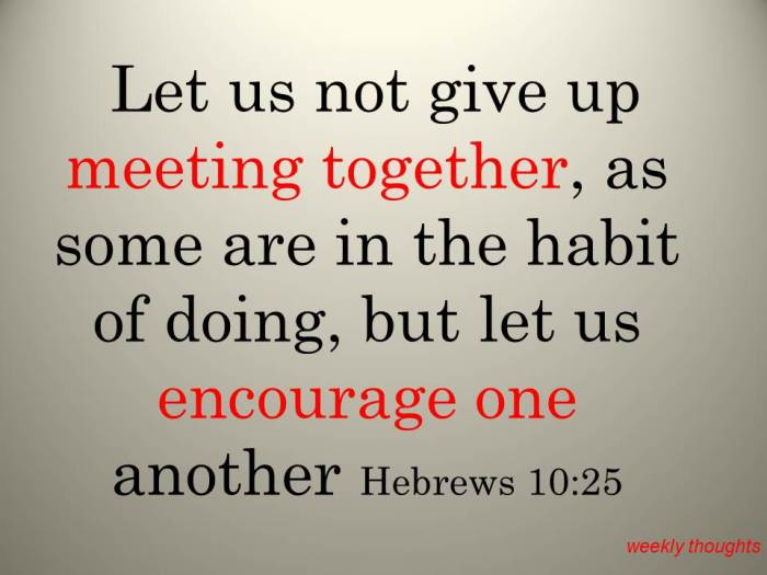let-us-not-give-up-meeting-together