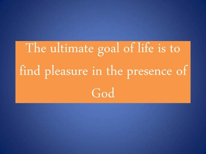 The ultimate goal of life is to find.jpg